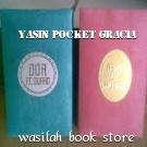 Yasin & Tahlil Asmaul Husna Pocket Ukuran 7x 6 Harga Rp.12rb